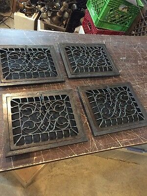 Ca 9 4Available Price Separate Antique Swirly 10 X 12 Heating Wall Grate