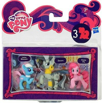 Hasbro A2031 My Little Pony 3er Set Sammelfiguren / Spielfiguren NEU / OVP