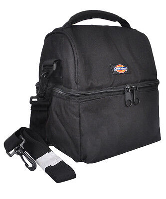 "Dickies ""Camo Check"" Lunch Cooler - black, one size"