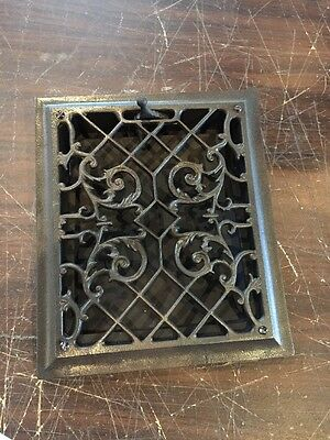 Ca 14 Antique Cast-Iron Wall Mount Healing Grate