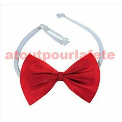 Noeud papillon en satin rouge,Dandy,Donald,Saw,Mary Poppins,Carnaval,Déguisement
