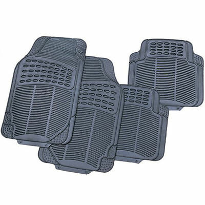 4 Piece Heavy Duty Rubber Car Mats For Kia Cee'd Carens Niro Optima Picanto Rio