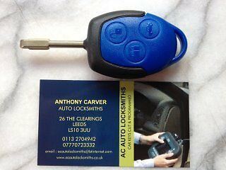 2007 -2015 New  Genuine  Ford Transit Blue Remote Key
