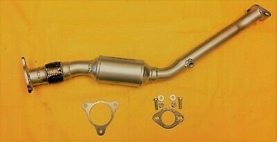 DIRECT FIT CATALYTIC CONVERTER WITH FLEX FOR 2007 SATURN ION 2.4L