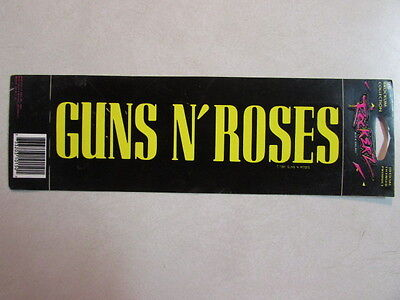 Guns N Roses Bumper Sticker Licensed By Brockum Collection Rockerz Rock Decals