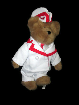 "Coca-Cola Boyds Bear ""Al"" Soda Jerk- BRAND NEW"