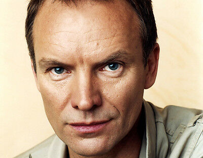 Sting UNSIGNED photo - P2778# - Singer & Actor