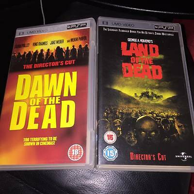 dawn of the dead and land of the dead [UMD Mini for PSP]