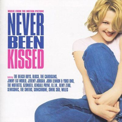 NEVER BEEN KISSED - Original Soundtrack - 16 Track MUSIC CD - LIKE NEW - F506