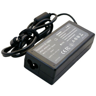 "AC Adapter Charger For Samsung UN22F5000 22"" 1080p LED TV Power Supply Cord ED"