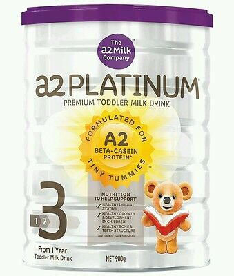 A2 Platinum Premium Stage 3 - Toddler Milk Drink - 900g  - OzHealthExperts