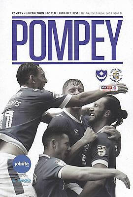 2016/17 - PORTSMOUTH v LUTON TOWN (2nd January 2017)