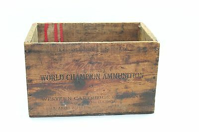 Vintage Western Xpert Ammo crate marked 500 2 7/8in shotgun shells empty E377