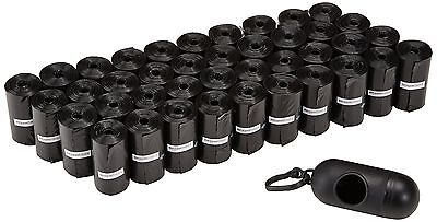 AmazonBasics Dog Waste Bags with Dispenser and Leash Clip - 600 Pack 600-Pack