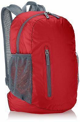 AmazonBasics Ultralight Packable Day Pack Red 25L