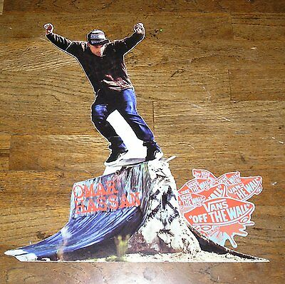 Omar Hassan Vans Off The Wall  Poster Scate Boarder Poster