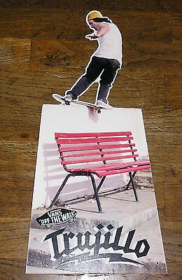 Trujillo  Vans Off The Wall  Poster Scate Boarder Poster