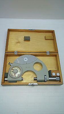 Carl Zeiss Jena CK-137 Snap Dial Micrometer 25-50 mm Germany