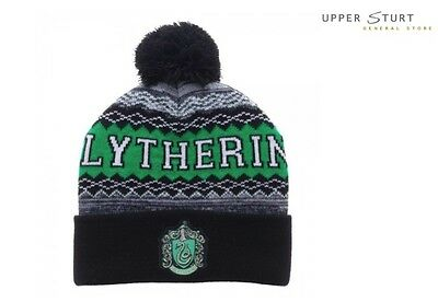 Harry Potter Slytherin Knit Beanie FAST 'N FREE DELIVERY