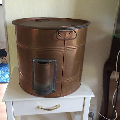 VINTAGE (possibly) FOWLERS VACOLA Preserving STOVE TOP STERILISER copper Coated