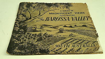 1930s /  BAROSSA VALLEY South Australia Tourist Booklet  VERY RARE