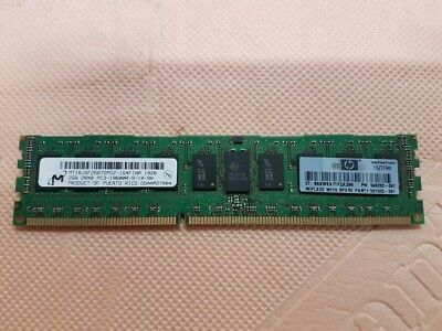 Hp 500202-061 2Gb (1X2Gb) 1333Mhz Pc3-10600 Cl9 Dual Rank Ecc Registered Ddr3 Sd
