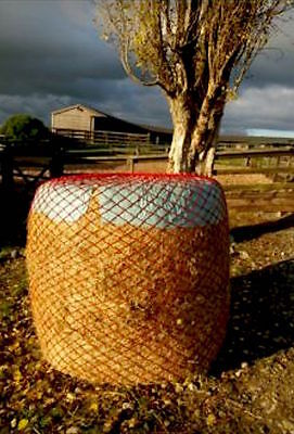 NEW ROUND BALE 5ft. HAYLAGE JUMBO SLOW GREEDY FEEDERS HAYNETS Best Quality SALE