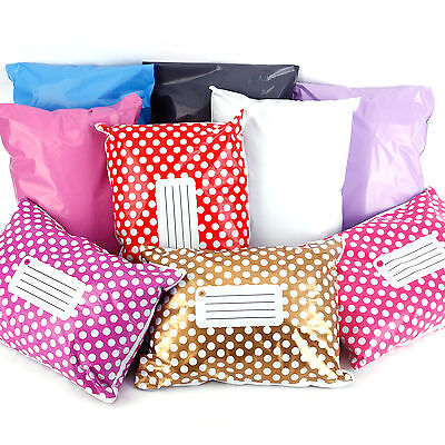 STRONG Post Postal Plastic Mailing Bags Postage Self Seal Coloured