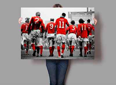 NEW Manchester United Football Club Legends Poster