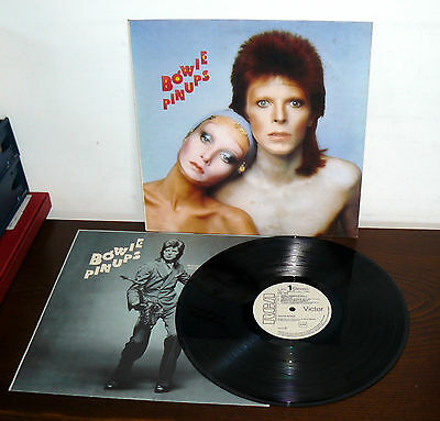 Promo  Rca David Bowie  Lp Pin Ups  Made In  Italy 1973  Apl1  0291/d
