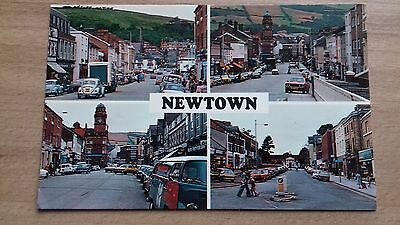 Wales : Newtown Multi View Rp : Classic Cars