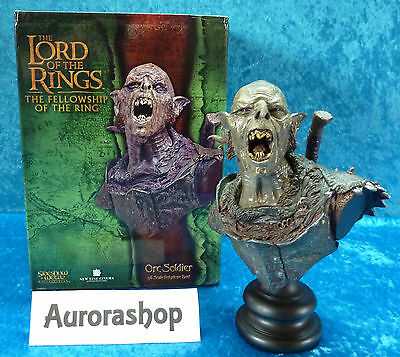 Sideshow Weta Büste Orc Soldier Herr der Ringe Lord of the Rings Bust / neu