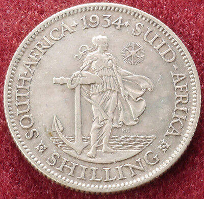 South Africa Shilling 1934 (C1212)