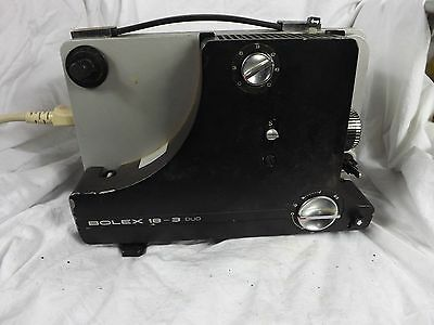 Bolex 18-3 Duo 8mm film projector