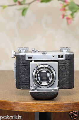 Excellent! 1938 35mm Certo Super Dollina Rangefinder camera, FRESHLY SERVICED!