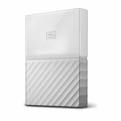 Wd Western Digital My Passport Ultra 2Tb External Portable Hard Drive Disk White