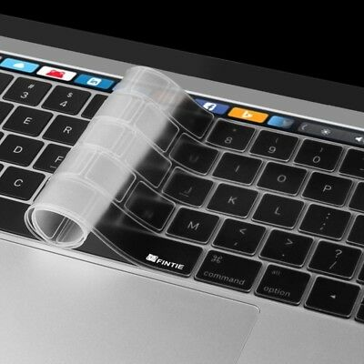 TECH ENKAY TPU Keyboard Protector Cover for MacBook Pro 13.3 inch with Touch Ba