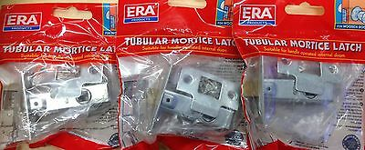 "ERA branded TUBULAR DOOR LATCH 2.5"" or 3"" - TOP QUALITY - Qtys of 3 - 9 latches"