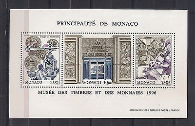 189 - MONACO 1996 ** MNH - Stamp and Coin Museum