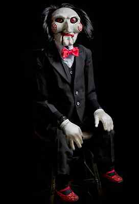 Life Size SAW BILLY PUPPET PROP replica~Trick or Treat~movie~Conjuring~Wan~New