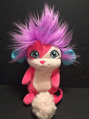 "POPPLES Sunny 8"" Pop Open Plush Stuffed Toy Pink Purple Spin Master 2015"