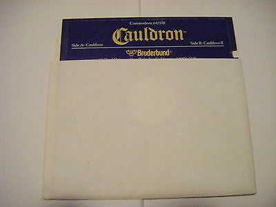 Commodore 64 classic CAULDRON II with game instructions