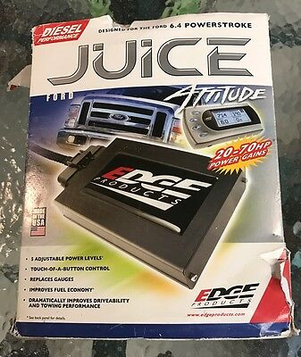 Edge Products FORD 6.4 Juice w/ Attitude Powerstroke Tuner chip 2008 09 10 10103