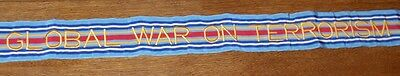 New Global War on Terrorism Campaign Military Flag Streamer  - Surplus & 4' long