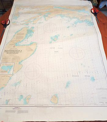 Fisheries and Oceans Canada Nautical Map Chart Beaverstone Bay to Lonely Island
