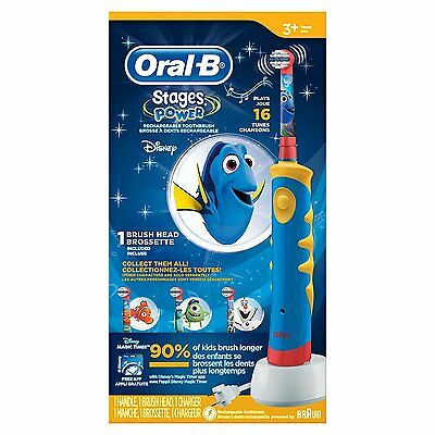 Oral B Pro-Health Stages Oral-B Power Brush - Finding Dory Toothbrush for Kids