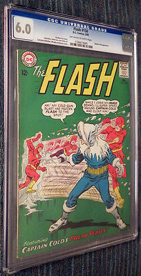 The Flash #150 CGC 6.0 OW/W Pages - Flash vs Captain Cold!