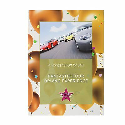Activity Superstore Fantastic Four Supercars Experience:The Official Argos Store