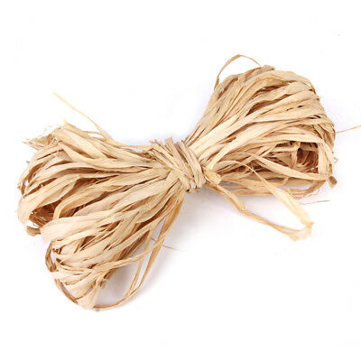 65m/71yards Natural Color Raffia for Crafts DIY Gift/Decors