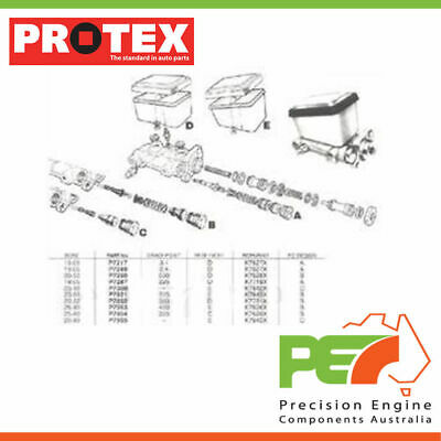 New Genuine *PROTEX* Brake Master Cylinder For HOLDEN STATESMAN WB 4D Sdn RWD.